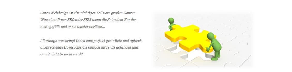 Homepage, Webseiten, Webdesign und Internetseiten Gestaltung in Sulzbach/Saar