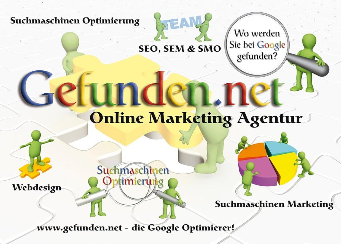 Online Marketing Agentur: Suchmaschinenoptimierung, Suchmaschinen Marketing und Webdesign aus Germering