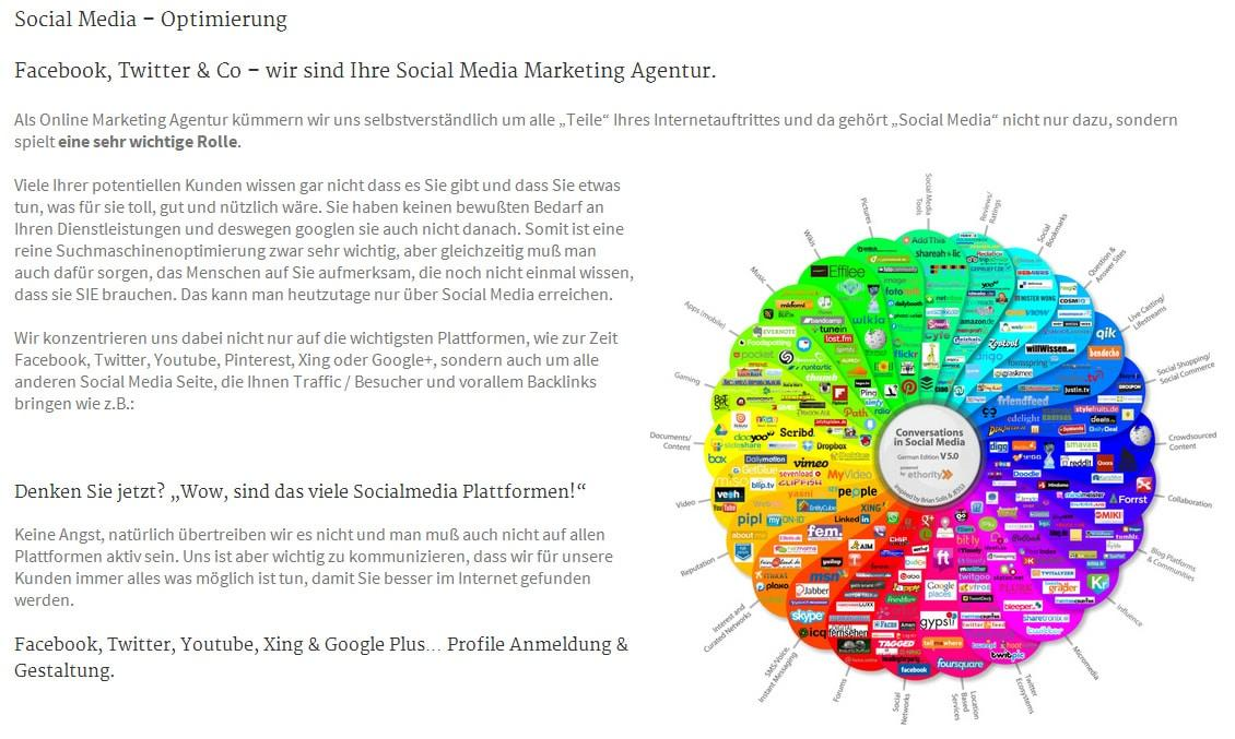 Youtube, Twitter, Facebook, Xing: Ihre Social Media Agentur in Kitzingen