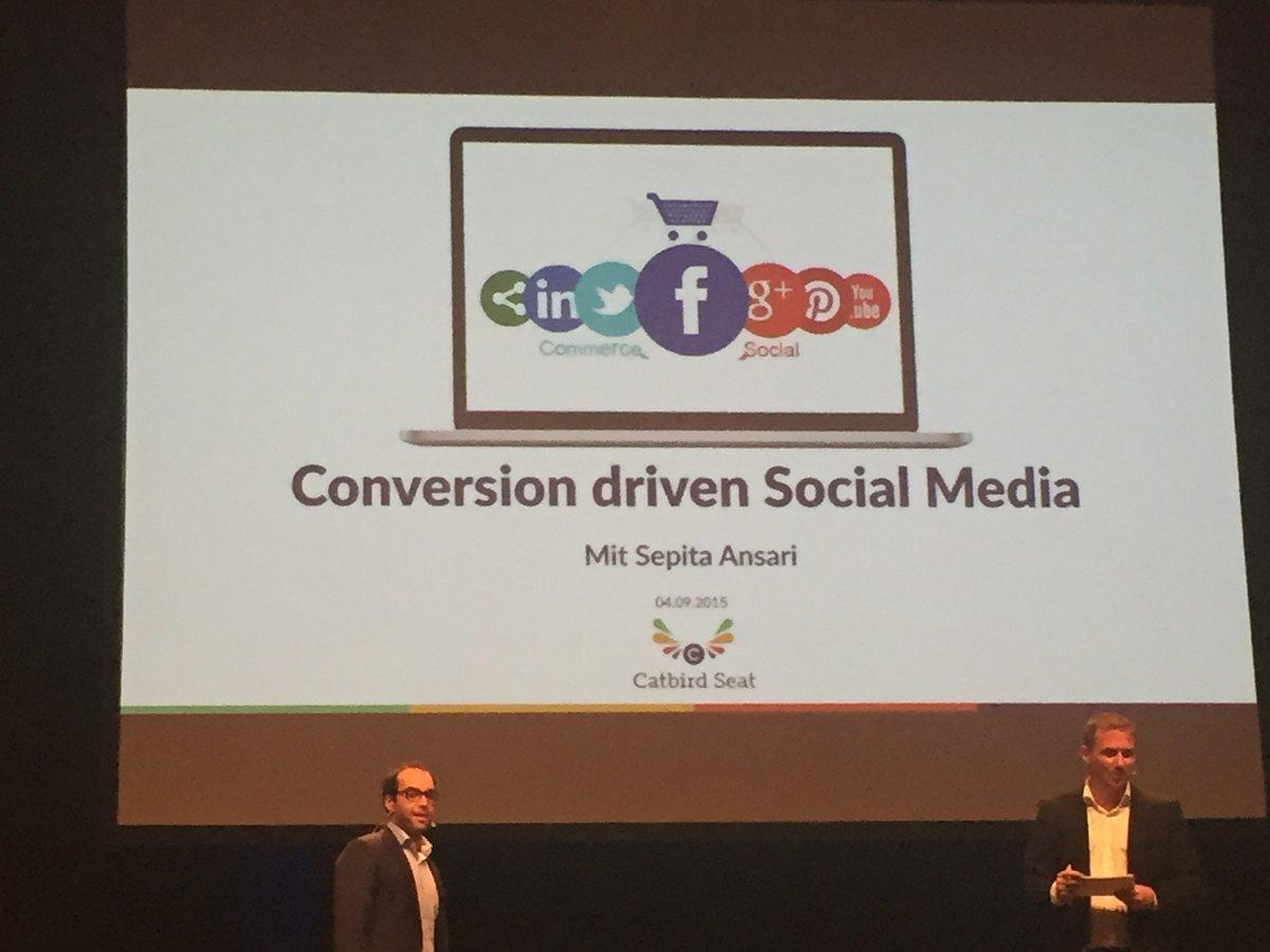 Social Media auf der OMT 2015