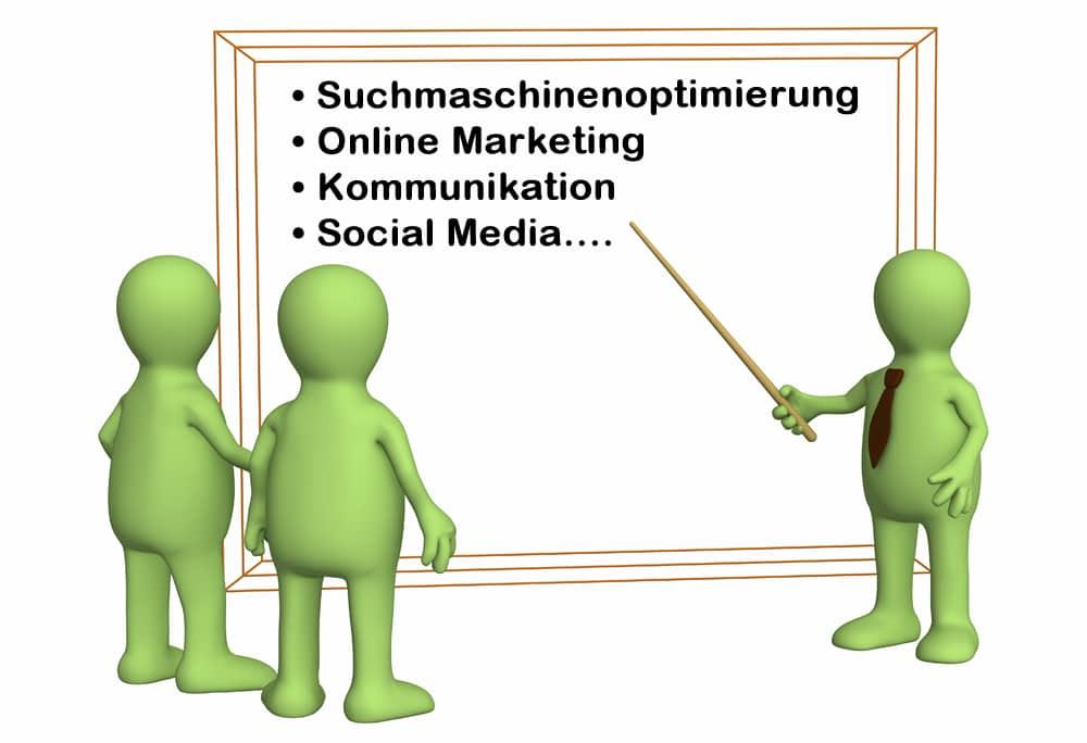 SEO, Onlinemarketing Schulungen & Kurse: Heilbronn, Ludwigsburg & Stuttgart