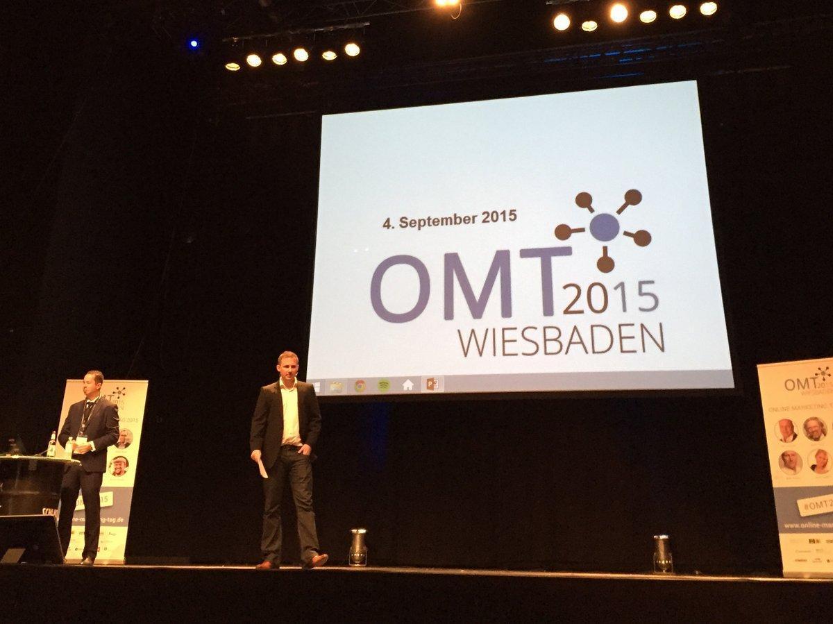 Florian Rentsch auf dem OMT 2015