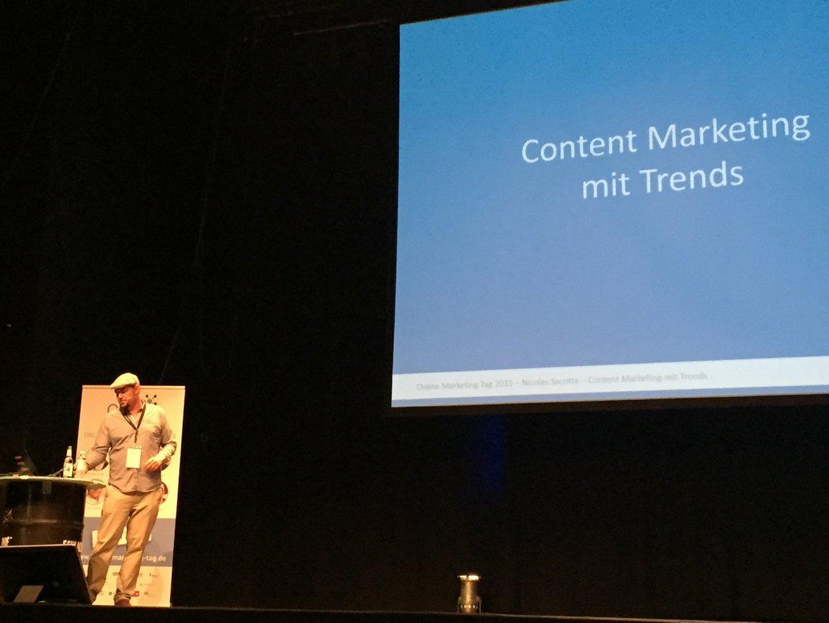 Content Marketing mit Trends