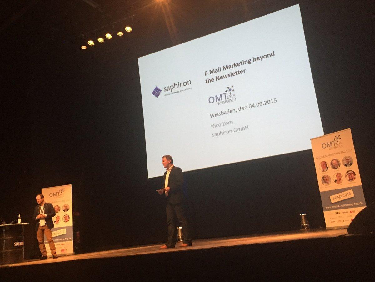Nico Zorn: E-Mail Marketing auf dem OMT 2015